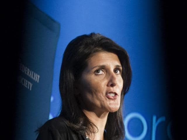 Indian American in Donald Trump team,Nikki Haley,US ambassador to the United Nations