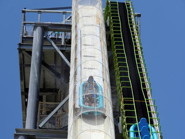 The 168 feet (51.4 meter) slide will be decommissioned, closed permanently and removed after the ongoing investigation is complete, park officials said in a statement on Tuesday.(REUTERS)