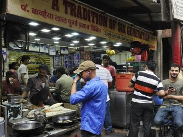 Sales are down by 90% at the famous Paranthe Wali gali in Chandni Chowk.