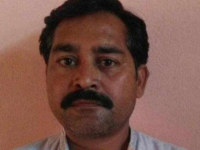 AAP candidate from the Bhoa assembly constituency in Pathankot district, Vinod Kumar.