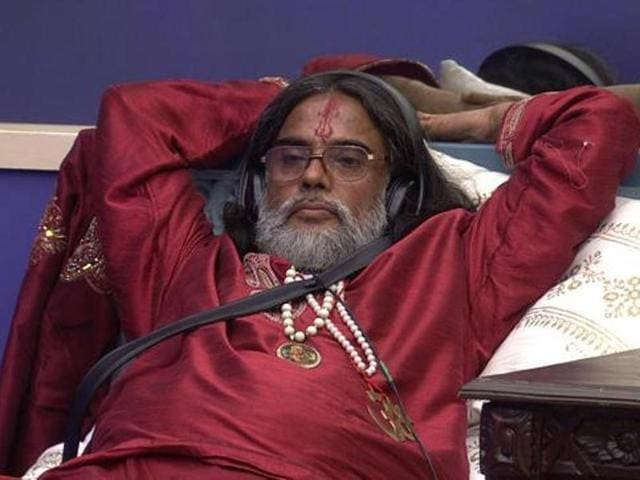 Swami Om has been booked in a case of theft, lodged by his brother.
