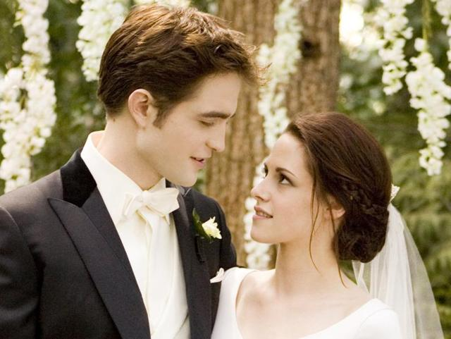 Edward proposed to Bell in the third Twilight film, Eclipse.