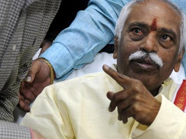 File photo of Union minister Bandaru Dattatreya.