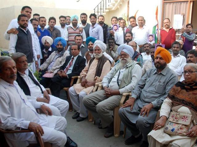 Harminder Jassi,loyalists,Congress