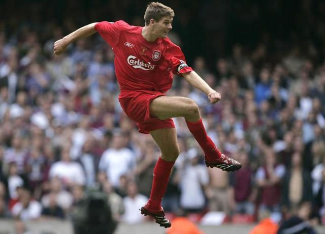 Steven Gerrard made 710 appearances for Liverpool, the third-highest total behind Ian Callaghan and former team-mate Jamie Carragher, scoring 186 goals.