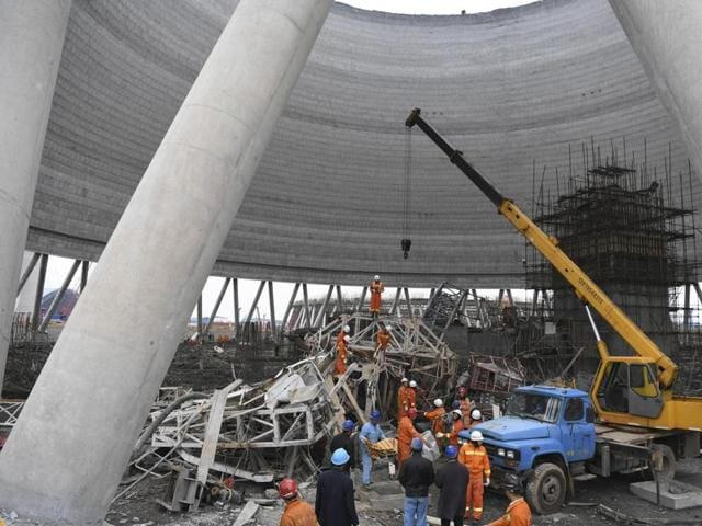 China,Power Plant Collapse,China Power Plant Collapse