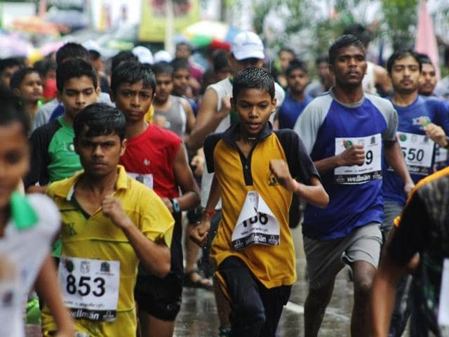 Police officers, constables and their families can participate in the marathon at Thane.