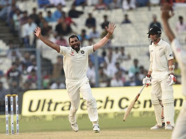 Mohd Shami Shami set the tone in Vizag by accounting for England skipper Alastair Cook in the first innings.