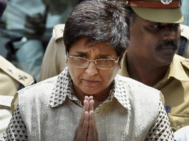 Lt governor of Puducherry Kiran Bedi was issued an advisory by the Election Commission for violation of model code of conduct.