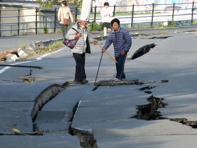A 5.6-magnitude earthquake shook northeast Japan early on Thursday, two days after a powerful tremor triggered a tsunami near the stricken Fukushima nuclear power plant.