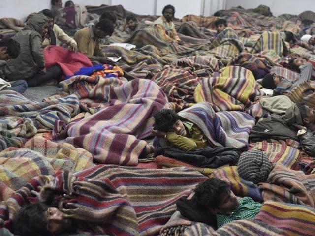 Night shelters for homeless