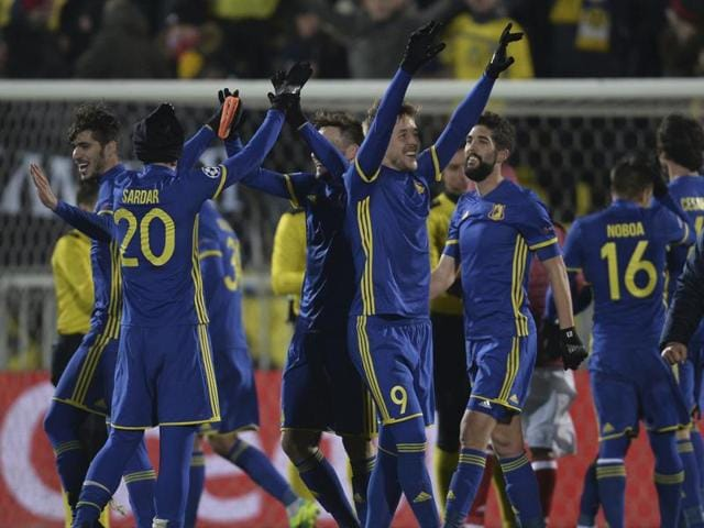 FC Rostov secured their first-ever win in the UEFA Champions League by defeating FC Bayern Munich 3-2.