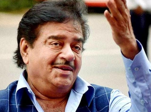 BJP MP Shatrughan Sinha criticised PM Narendra Modi for sharing the survey on demonetisation.
