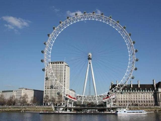 The London Eye has hosted music performances