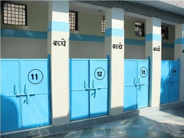 Toilet complexes in Delhi