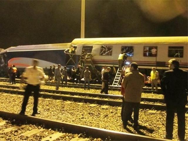 Iran,train collison,Iran state TV