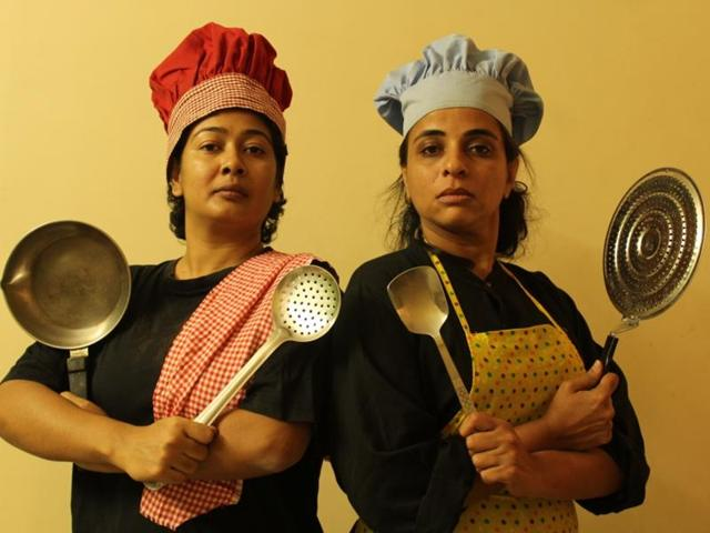 Dhaaba has been written by object theatre practitioner Choiti Ghosh (left).