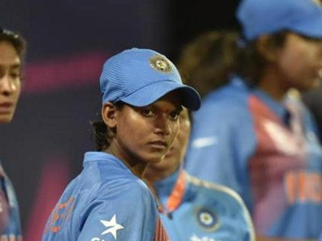 Indian women's team skipped all their three matches against Pakistan in the ICC women's championship competition in August 2016. Pakistan Cricket Board plans to seek compensation from the BCCI for the cancelled series.(HT Photo)