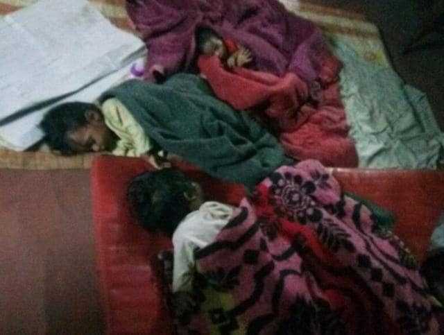 Around midnight sleuths raided a home for mentally challenged in Thakurpukur area, near Kolkata and rescued the babies who were locked inside a room. The babies were kept on blankets over a mat on a floor. According to sleuths, the babies are aged between one month and ten months.