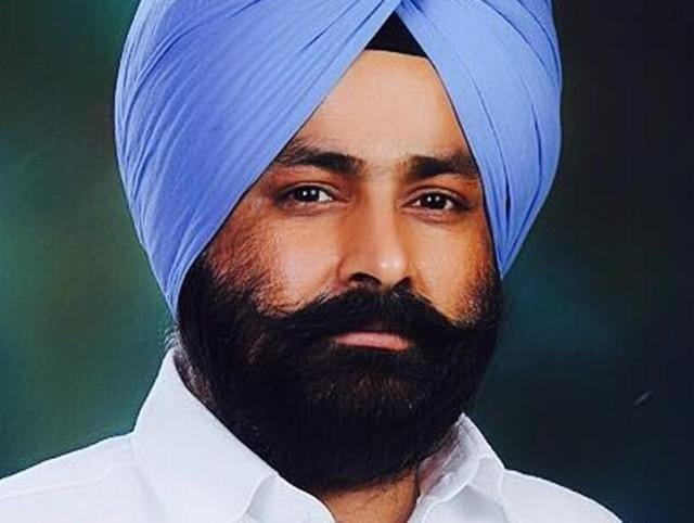 Daljit Singh Sadarpura, 42, is the new candidate.