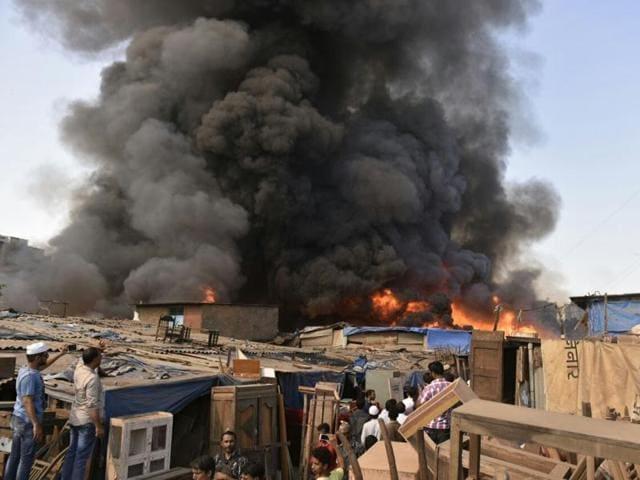 jogeshwari fire