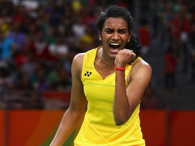 PV Sindhu has jumped to number nine in the world rankings while Saina Nehwal has slipped to number 11.