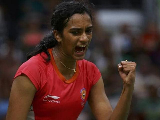 PVSindhu entered the semi-finals of the Hong Kong Open with a titanic 21-17, 21-23, 21-18 win over Singapore's Liang Xiayou.