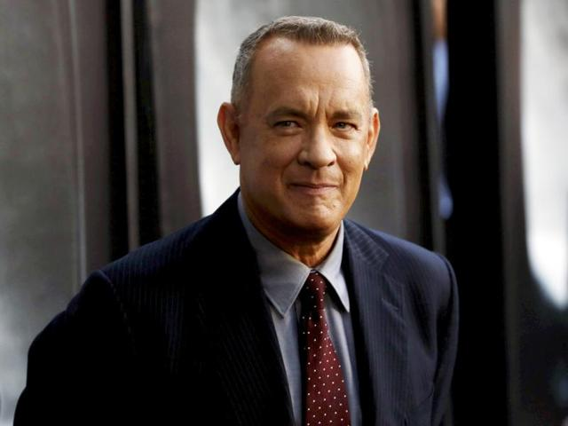 Tom Hanks surprised fan, Denise Esposito with a gift on Wednesday.