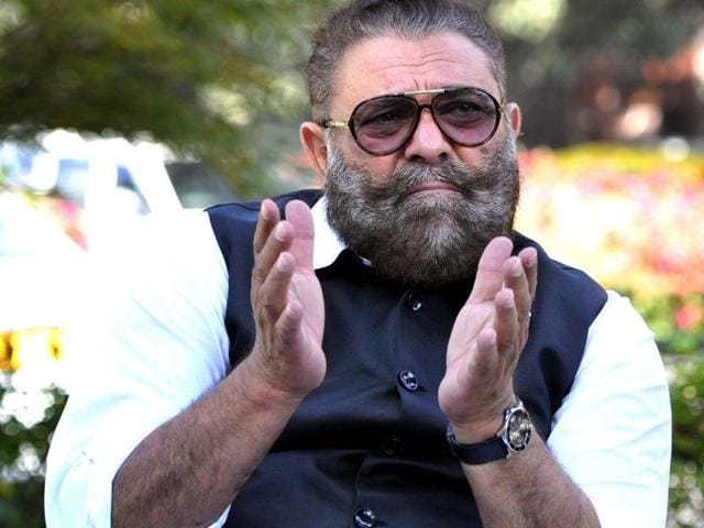 Actor and former cricketer Yograj Singh, father of cricketer Yuvraj Singh, in Chandigarh on Friday, November 25.