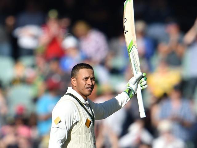 Usman Khawaja,Australia vs South Africa,Adelaide Test