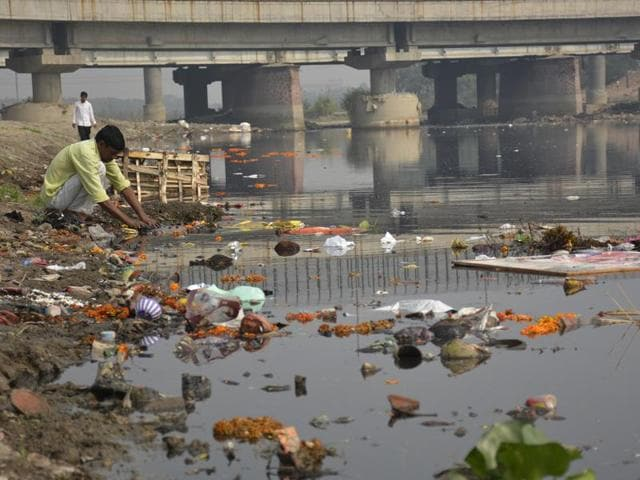 Hindon river,Pollution,Environmental conservation
