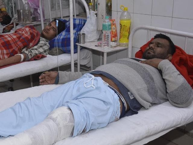 Gangster Kale, who is wanted in several cases and carries a reward of Rs 50,000 for his arrest, was injured in a shootout with the police on Thursday. He is being treated at a private hospital in Sahibabad and is under police custody.