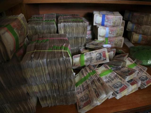 Police said they recovered 22,444 demonetised notes of Rs 500 denomination and 28 demonetised notes of Rs 1000 denomination.