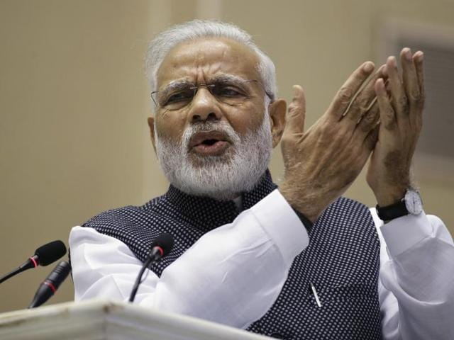 Prime Minister Narendra Modi, hit back at the opposition's criticism of his demonetisation move