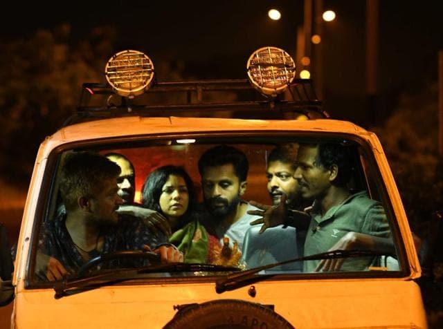 Sexy Durga is directed by Sanal Kumar Sashidharan and stars Rajashri Despande and Kannan Nair.