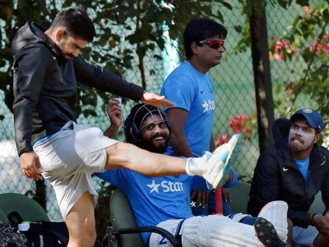 It was a relaxed atmosphere in the Indian camp with the players sharing jokes even as they went through a very thorough session, led by Virat Kohli, a task-master when it comes to practice. (PTI)