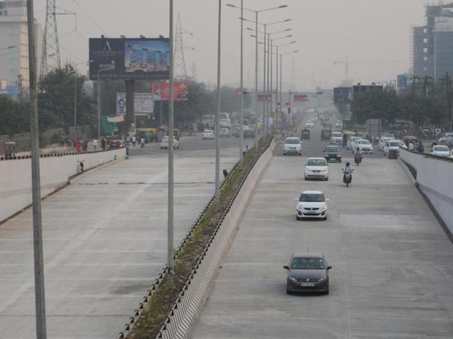 The underpass was constructed under NH-24 to provide relief to commuters travelling between Noida and Ghaziabad without interfering with the traffic moving on NH-24, between Ghaziabad and Delhi.