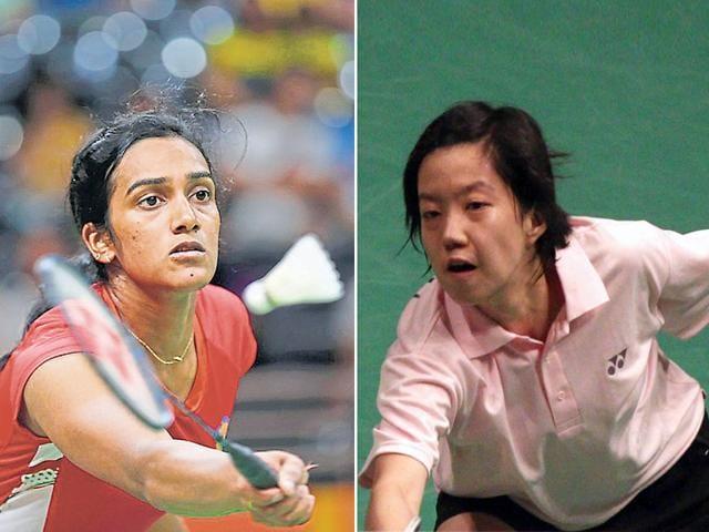 PV Sindhu faces local girl Yi Cheung Ngan in the semifinal of the Hong Kong Open badminton championship.
