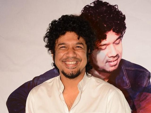 Singer Papon launched his album The Story Now at Bandra in Mumbai.(HT Photo)