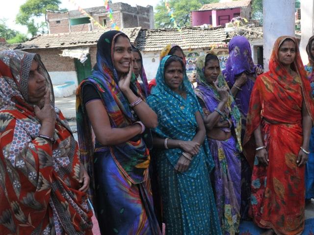 Self-help group members in Chappariya.