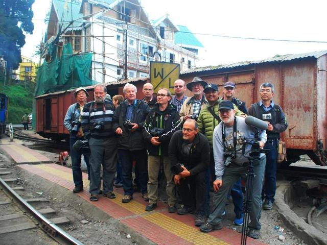 A German company has chartered a freight train on the toy train track fater 35 years.  The freight service was discontinued in 1980.