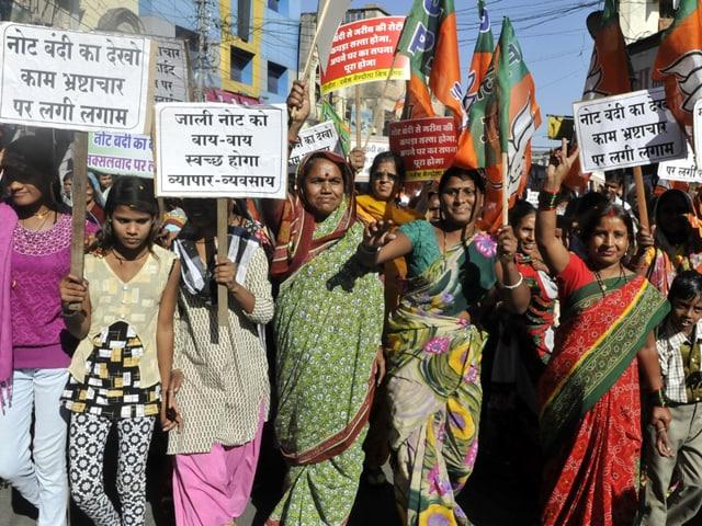 Indore,Kailash Vijayvargiya,rally in support of currency ban