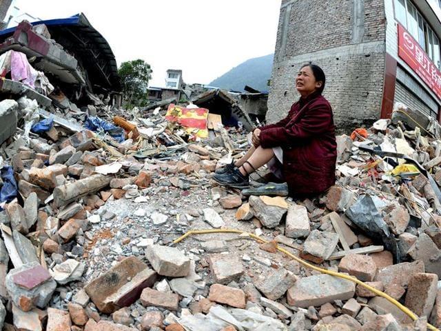 The quake hit near the Tajik border and some 170 kilometres west of the Chinese city of Kashgar.