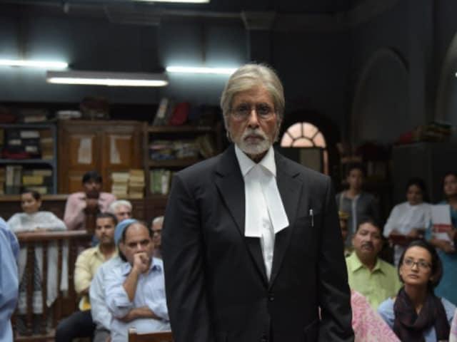 Amitabh Bachchan played a lawyer in Pink, produced by Shoojit Sircar.