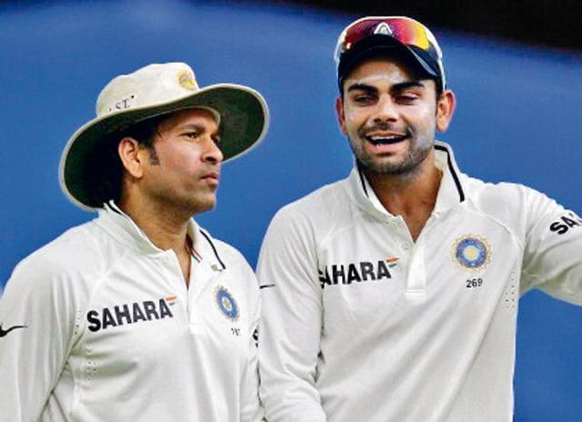 Sachin Tendulkar,Virat Kohli,India vs England