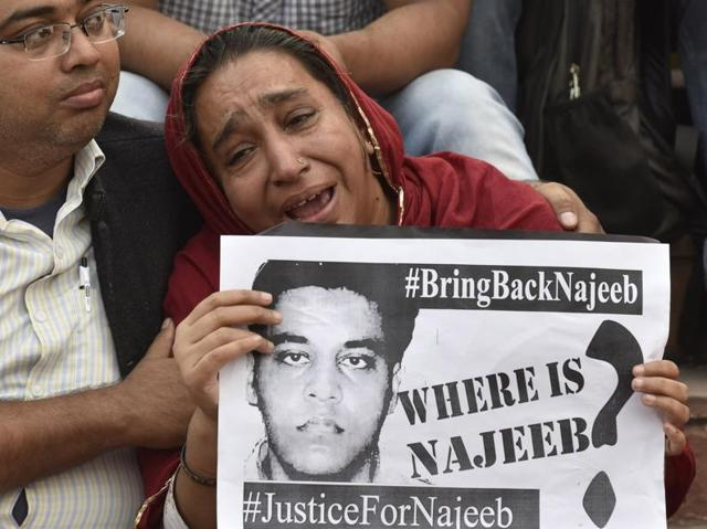 Najeeb's mother on Friday approached the Delhi High court seeking help to trace her missing son.