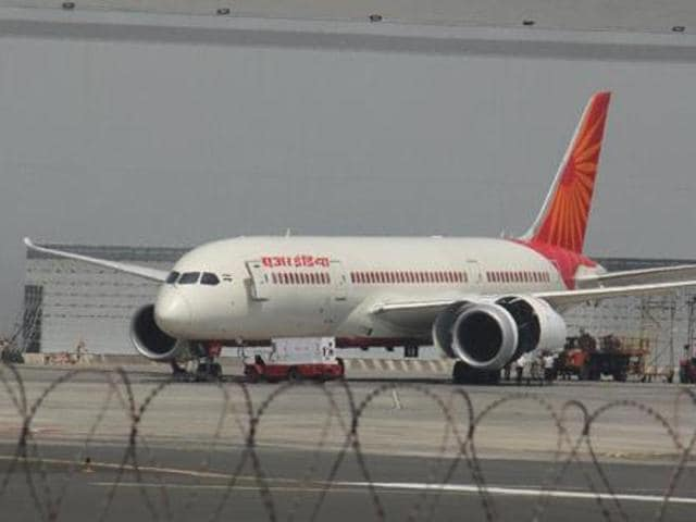 At Raipur, the flight encountered a snag, which airline technicians were unable to fix that day.