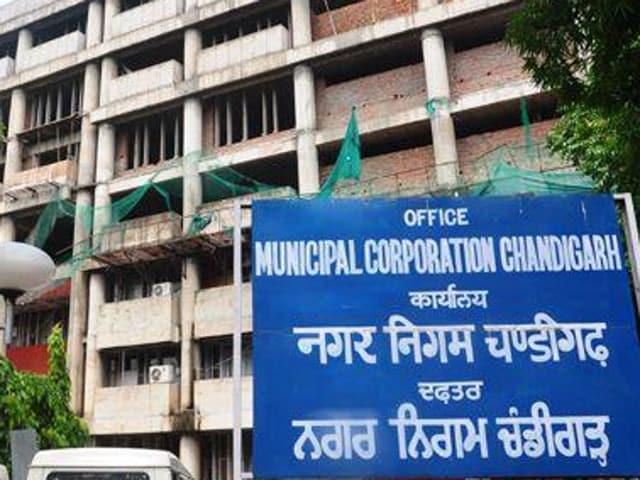Municipal corporation office Chandigarh(HT File Photo)