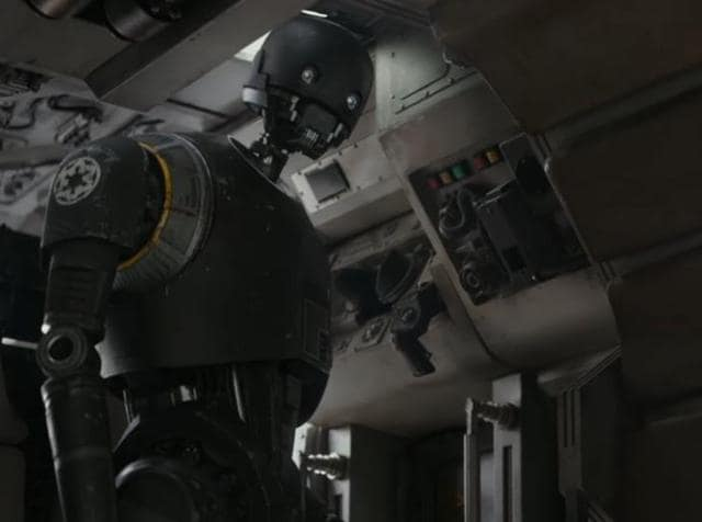 In a new trailer release on Saturday, Darth Vader and his heavy breathing make a reappearance and we get a better look at the new droid, K-2SO.