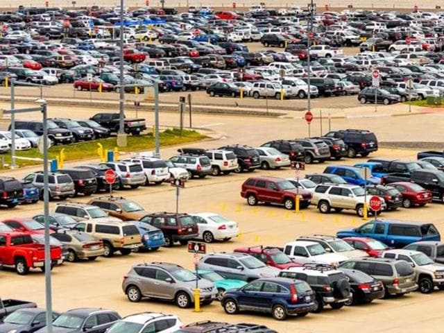 Representative picture. The AAI had announced free car parking services from Nov. 14, 2916, in the wake of the  demonetisation move.